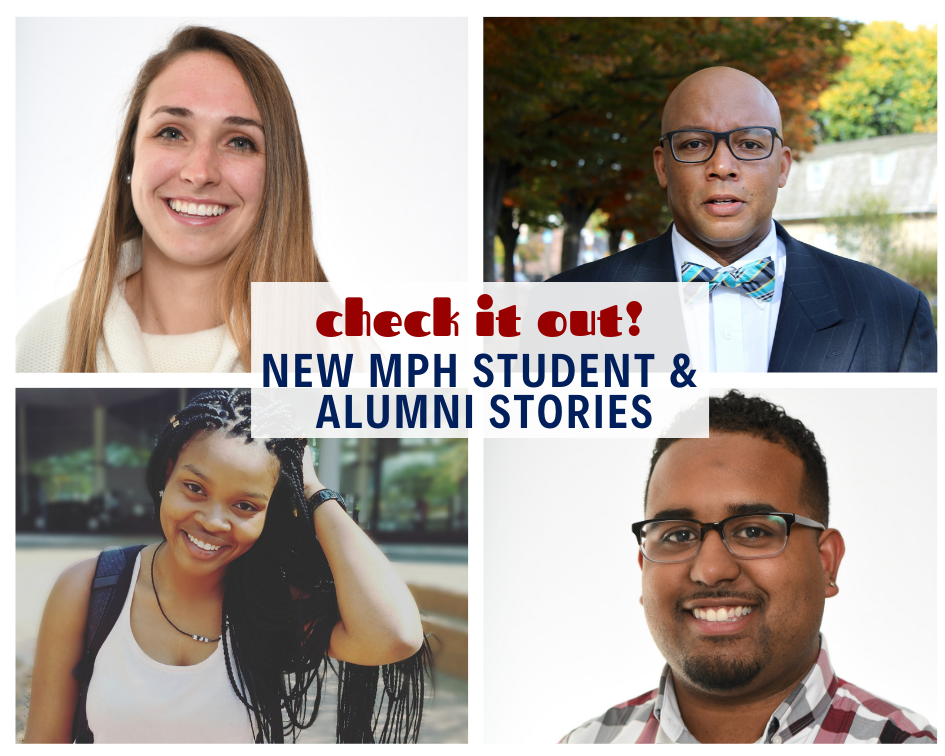 Check out our new feature, where you can learn more about some of our amazing students and alumni!