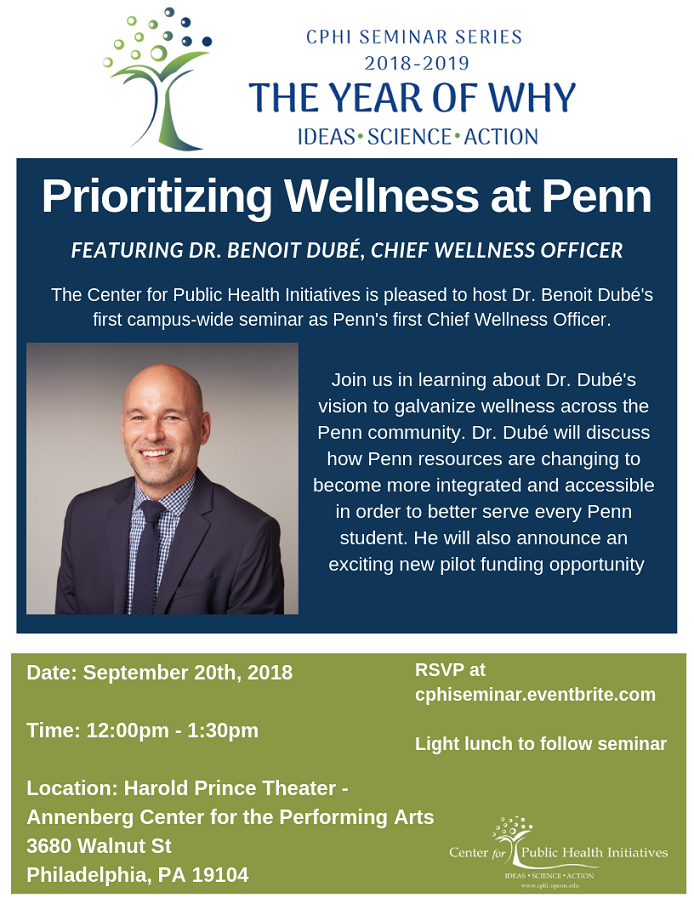 Penn's Chief Wellness Officer on Prioritizing Wellness at Penn